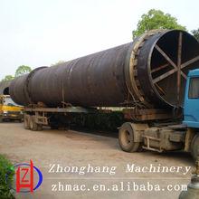 High capacity rice husk , copper dust, compound fertilizer Rotary Dryer machine