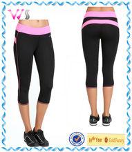 Women Fashion Fitness Tight Leggings Sport Black Yoga Wear Pants