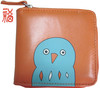Happy Goost PU Leather Coin Purse-Inside 2 Divided