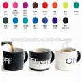 termocrômico pó de pigmento mudam de cor com a temperatura mudar