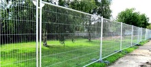 Powder Coated Frame Finishing and Steel Metal Type Palisade Fence