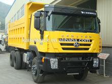 6x4 iveco genlyon hongyan camion à benne basculante lourd devoir 6x4 camion à benne basculante