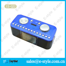 Alibaba 2014 China hot sell convert car fm radio to car mp3 player with alarm clock USB and TF card