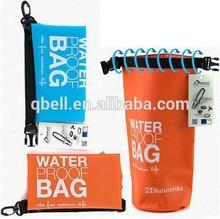 New design custom Logo and size ,1.5L PVC Waterproof bag