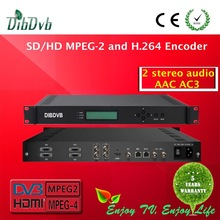 best-selling broadcast MPEG4&MPEG2 HD encoder with 2 XLR,2 RCA,1 AES inputs