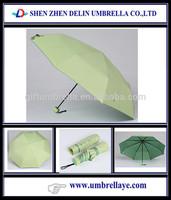 Be loved taj mahal picture printed three folding rain umbrella taj mahal souvenir gift