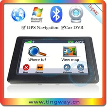 China Supplier Tingway GPS Navigation with Dvr Rohs