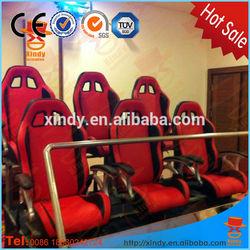 2014 Hottest Professional hydraulic motion 6 chair 5D Cinema movie
