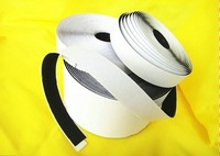 black and white double side adhesive velcro tape