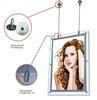 Zhongshan New led crystal light box frame , Slim Advertising Light Box