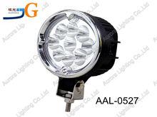27w oval work light 5.5 inch 27Watt LED screw mount work light 27w led roof light AAL-0527