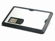 Card Style and Plastic Material Credit Card USB Flash Thumb Drive Singapore Corporate Gift