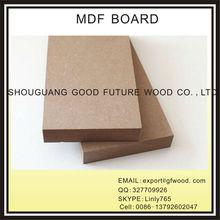 2015 high quality PLAIN MDF , RAW MDF, MDF board FOR SALE