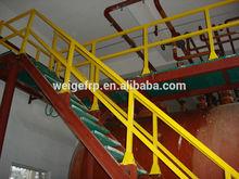Ease Installation Fiberglass FRP GRP Handrails for Outdoor Steps