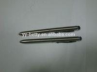 novelty decoration aluminum capactive pen for promotion