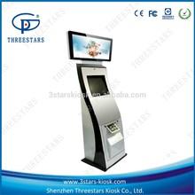 self service card/cash payment A4 printing kiosk/terminal