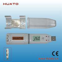 Temperature USB Data Logger/usb thermometer/ USB temperatre recorder HUATO HE172