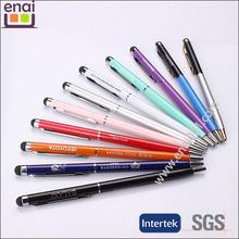 2015 Enterprise custom ultrafine metal Touch pen gift pen