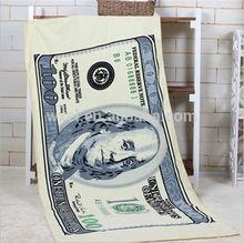 Brand Custom Bath Towel Printed Microfiber Beach Towel
