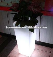 2015 weinuo LED chrismas party festival flower pot decoration 874