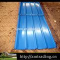 ondulado telhado de zinco folha preço