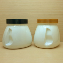 750ml beautiful storage jar for honey, cream