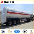 Ejes 3 de almacenamiento de gnl tanque/gnl tanque de remolque/gnl remolque de camiones de china fabricante del remolque