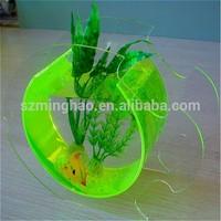 customized acrylic mini fish tank