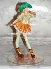 3D Japanese Girl PVC Anime Figures
