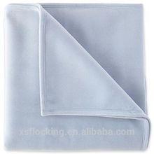 Sponge nylon flocking vellux blanket