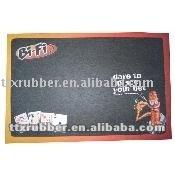 Rubber Table mats,second hand rubber matting,rubber dish drying mat