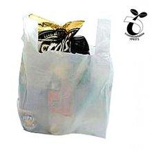 EN13432 Certified Plastic Shopping Bags, Vest Carrier Bags