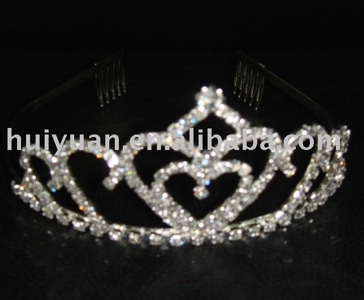 2012 newest styles argent wedding tiaras decoration