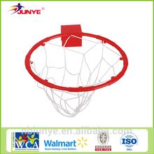 Indoor plastic basketball hoop