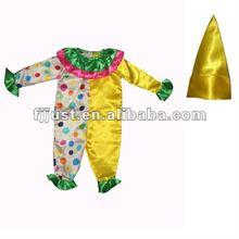 fantasía niños carnaval de payaso de circo trajes