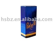 Silver paper Box Elegant Perfume Paper Box In UAE