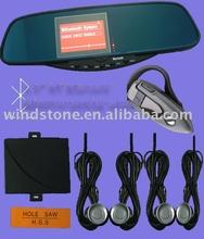Hottest Selling Car Bluetooth Handsfree Mirror Auto Part Kit