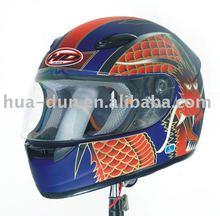 huadun dot motorcycle helmet HD-07B