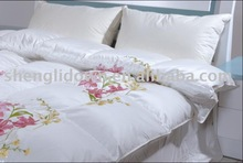 satin down filled comforters goose down embroidered duvet