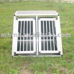 Double Door Aluminum Dog Cage