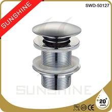 SWD-50127 Bathroom brass basin smart drain sink strainer