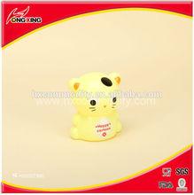 Plastic kids cartoon cat coin box maney saving can