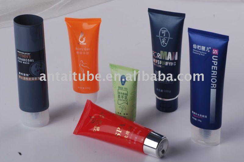 face cream plastic tube
