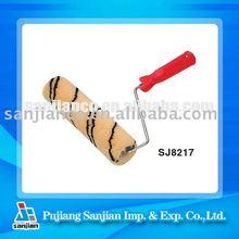 SJ8217 Yellow back ground with black strip Roller Brush