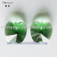Fashion Apple Shaped Crystal Bead For Jewelry Findings--DF19