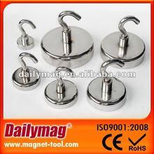 NdFeB Hook Magnet, Magnetic Hooks, NdFeB Cup Magnet