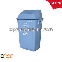 Cheap plastic kitchen cabint trash can