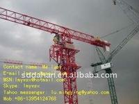 2015 hot QTZ125(6015) flat-top tower crane