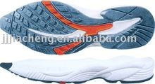 Shoes online shopping most popular raw rubber & tpu cheap soles for indoor soccer shoes in jinjiang