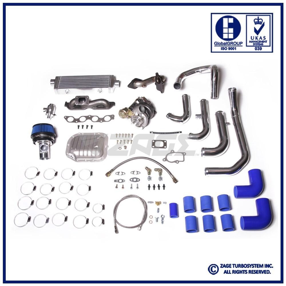 1NZ-FE 2005 engine for Toyota Yaris Turbocharger Zage Turbo Kit